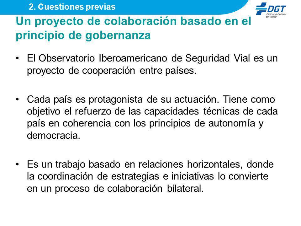 Un proyecto de colaboración basado en el principio de gobernanza