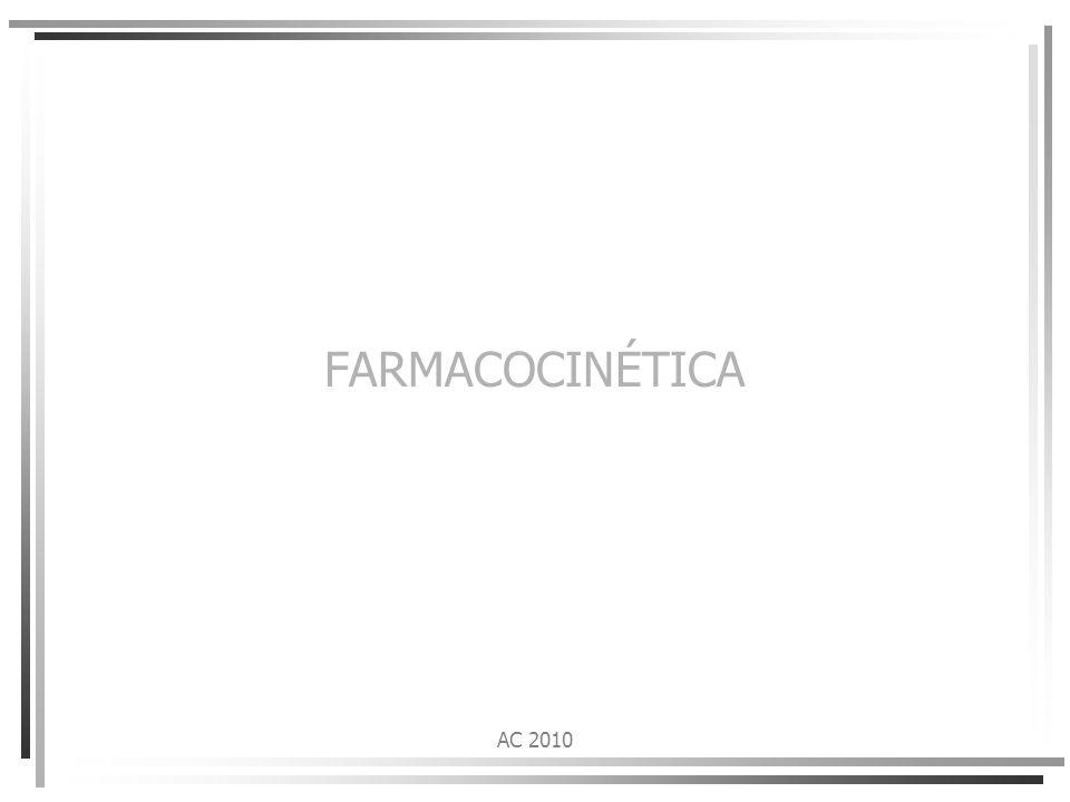 FARMACOCINÉTICA AC 2010