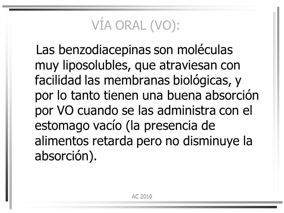 VÍA ORAL (VO):