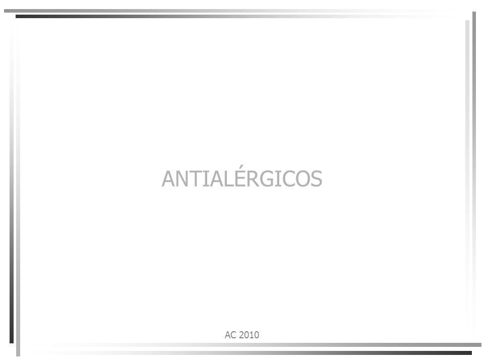 ANTIALÉRGICOS AC 2010