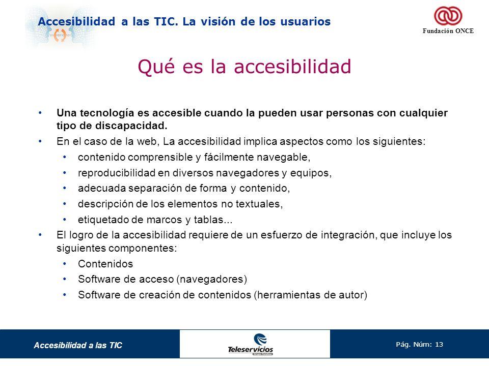 Qué es la accesibilidad