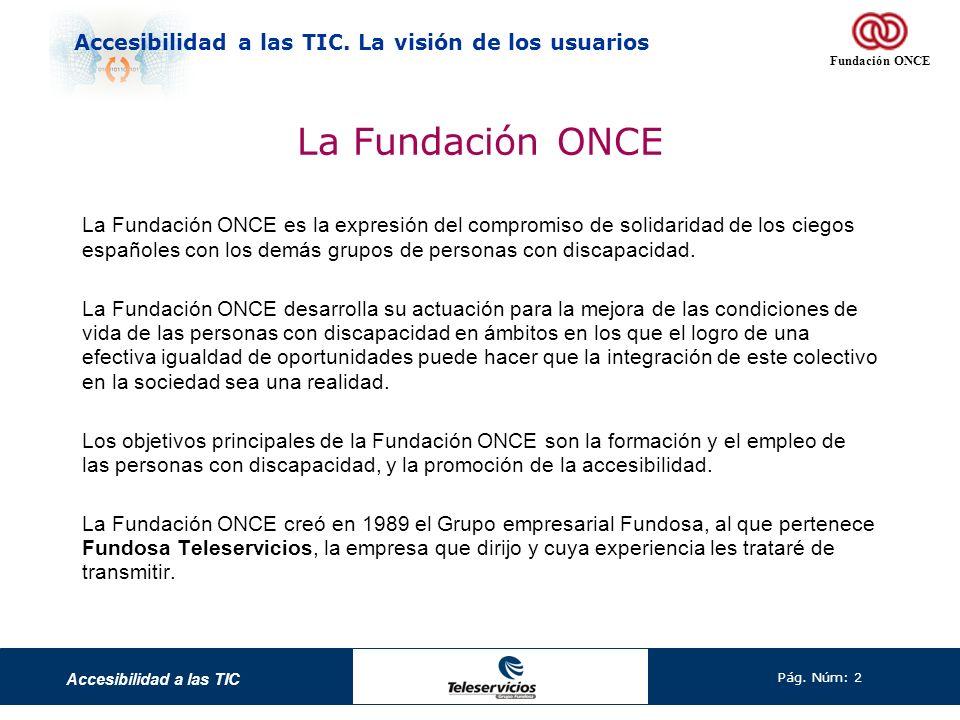 La Fundación ONCE