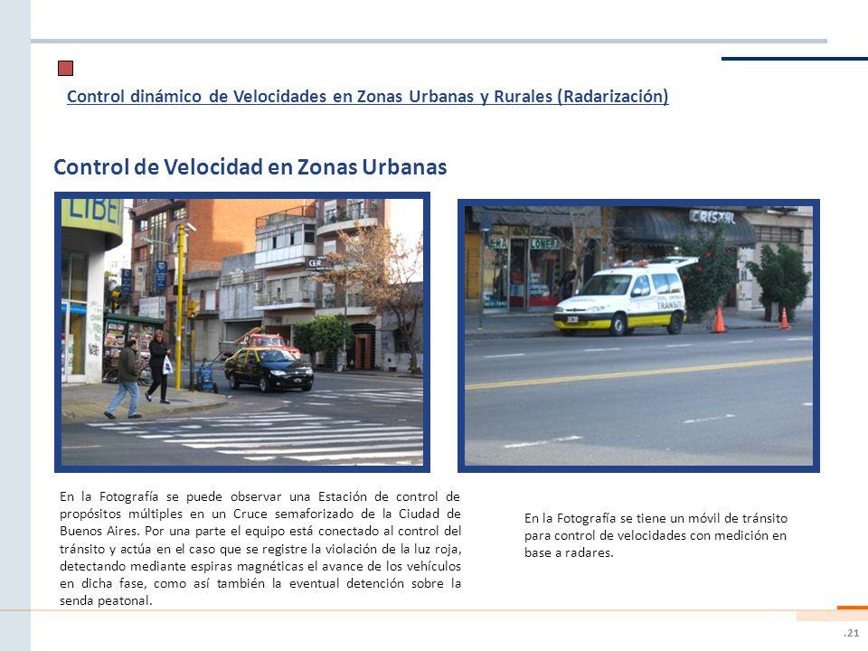 Control de Velocidad en Zonas Urbanas