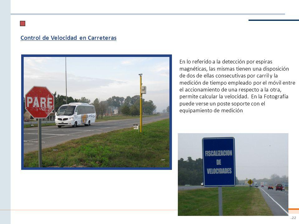 Control de Velocidad en Carreteras