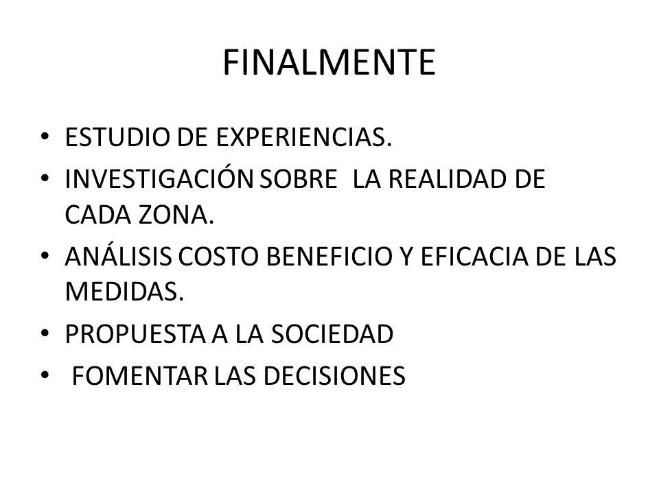 FINALMENTE ESTUDIO DE EXPERIENCIAS.