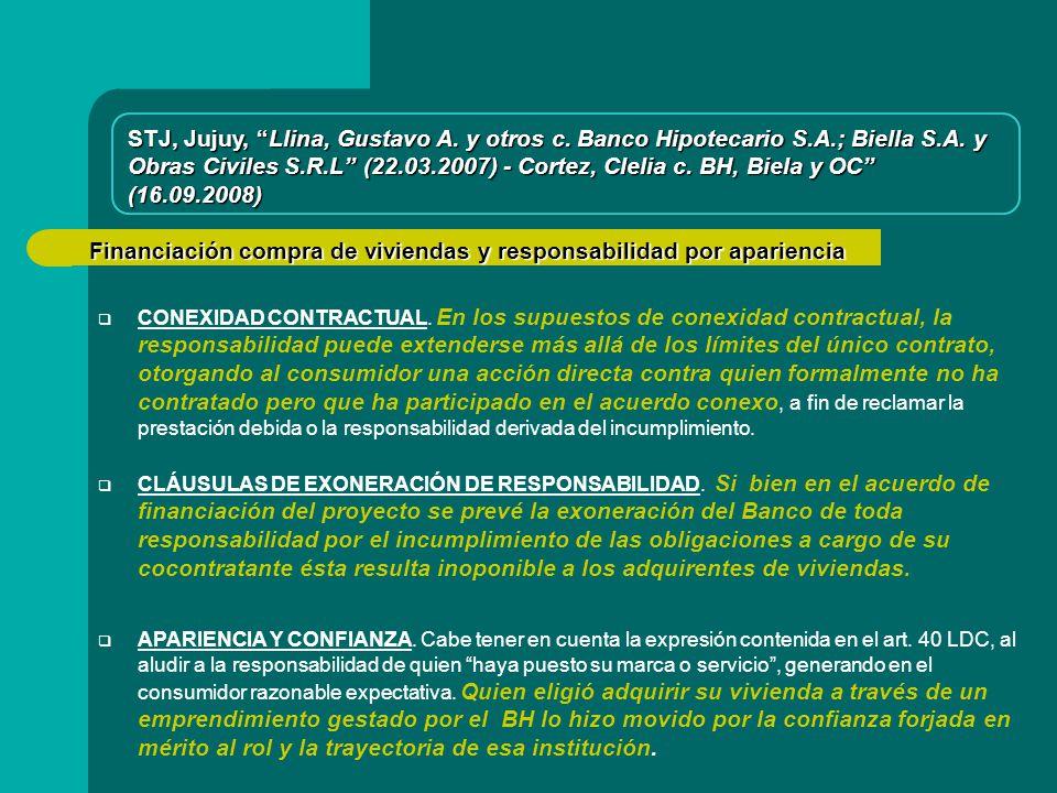 Obras Civiles S.R.L (22.03.2007) - Cortez, Clelia c. BH, Biela y OC