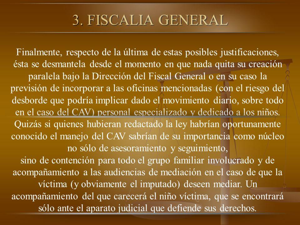 3. FISCALIA GENERAL