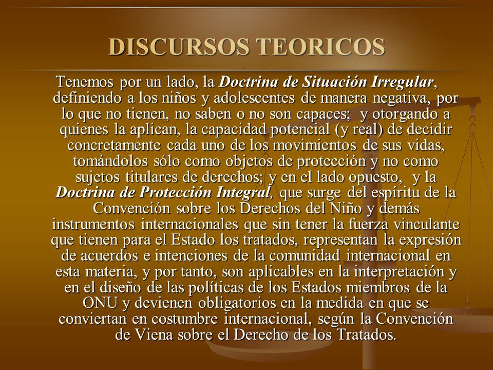 DISCURSOS TEORICOS
