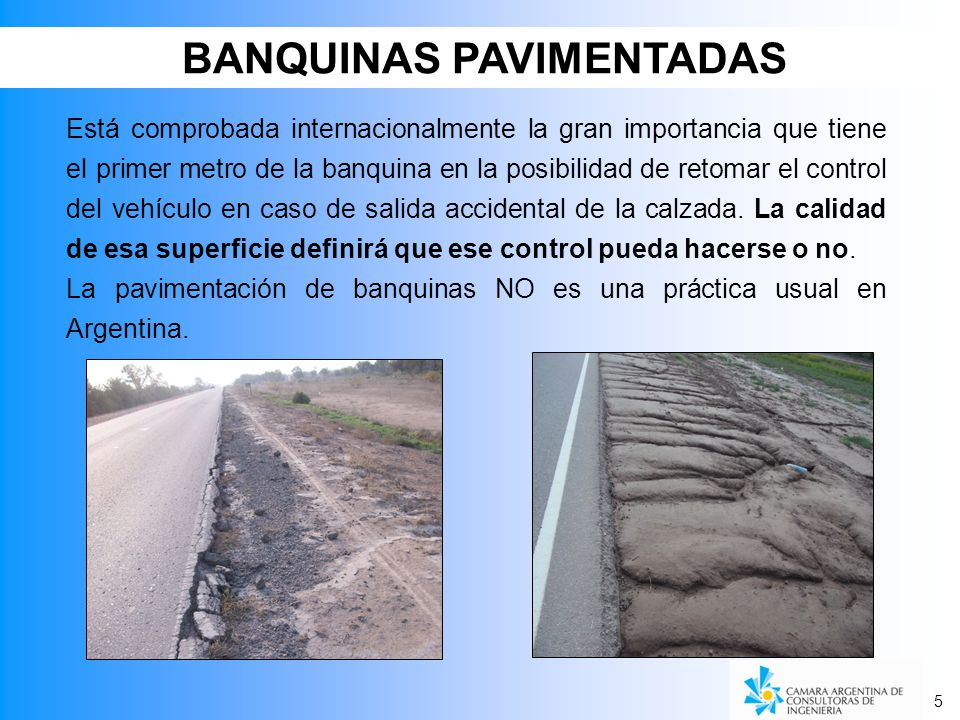 BANQUINAS PAVIMENTADAS