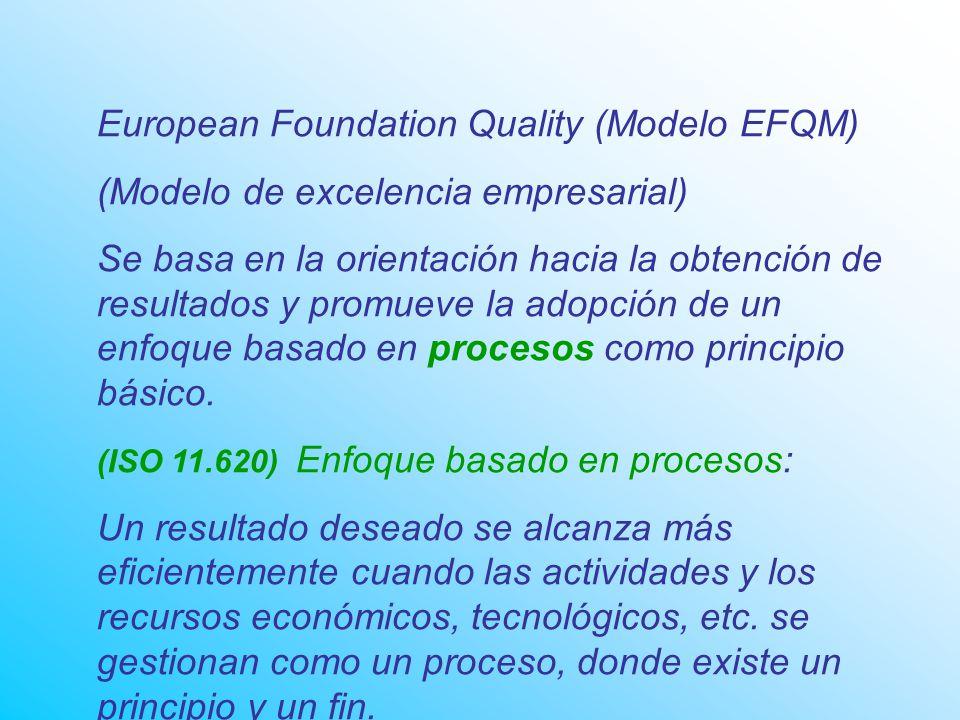 European Foundation Quality (Modelo EFQM)