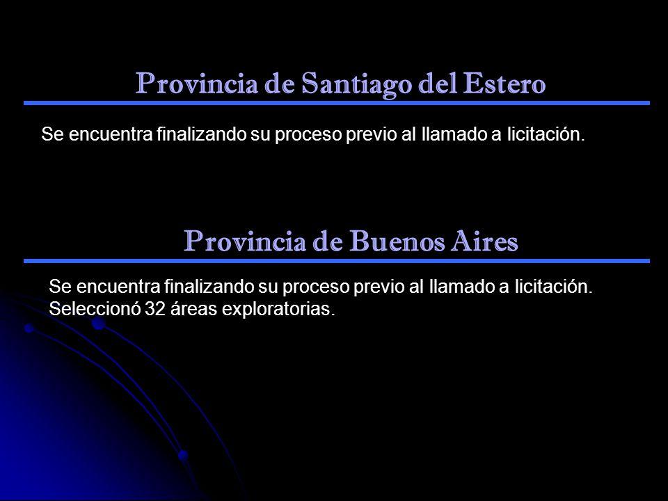 Provincia de Santiago del Estero Provincia de Buenos Aires
