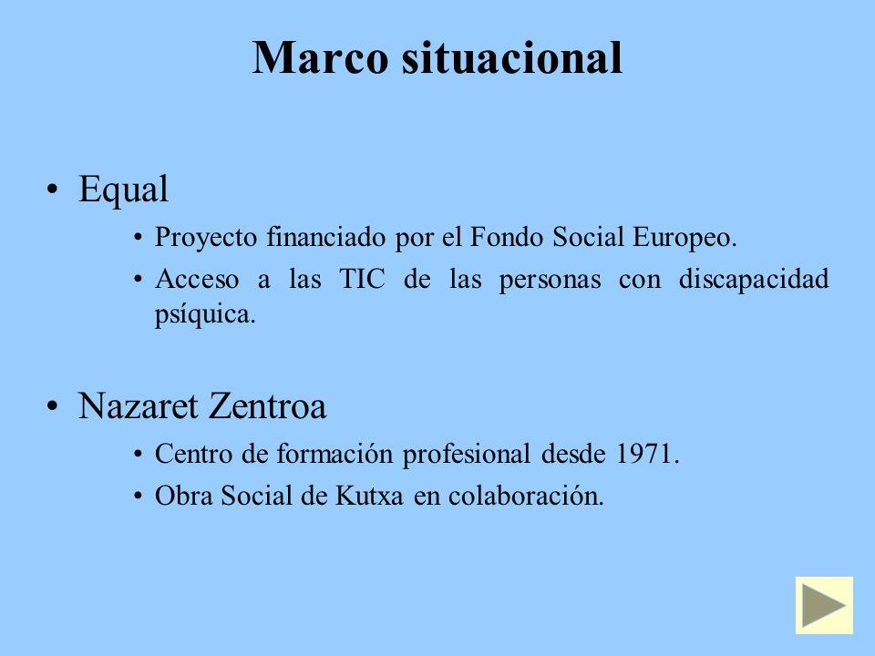 Marco situacional Equal Nazaret Zentroa