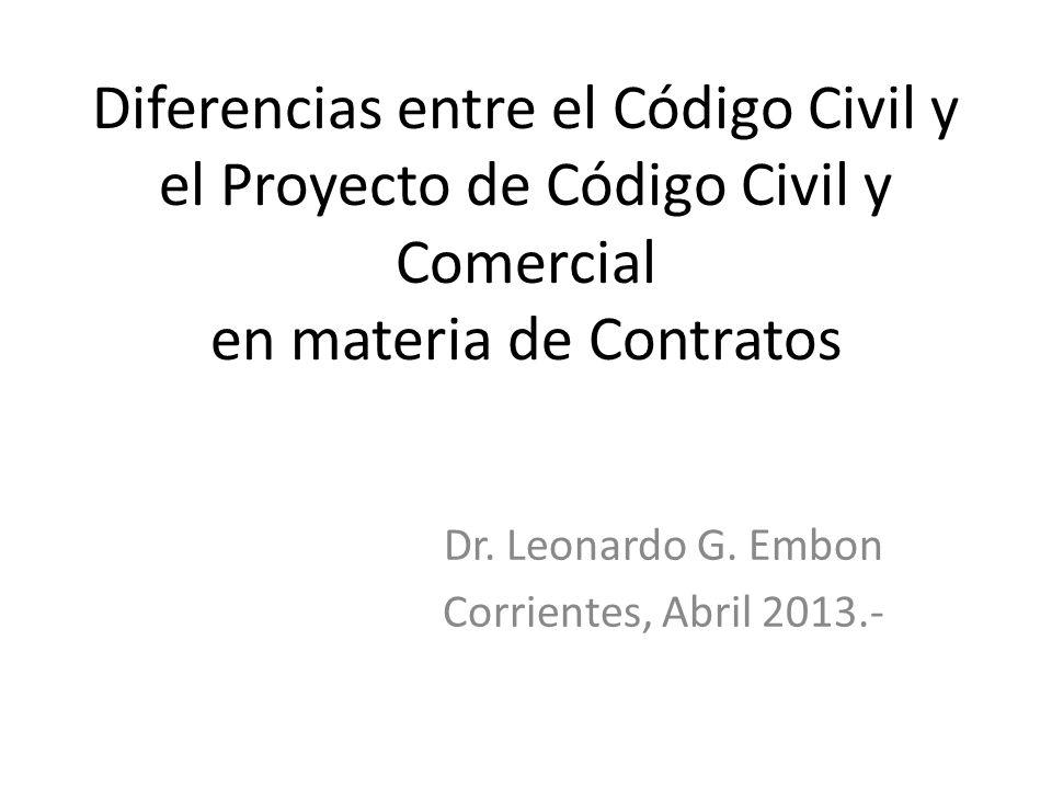 Dr. Leonardo G. Embon Corrientes, Abril 2013.-