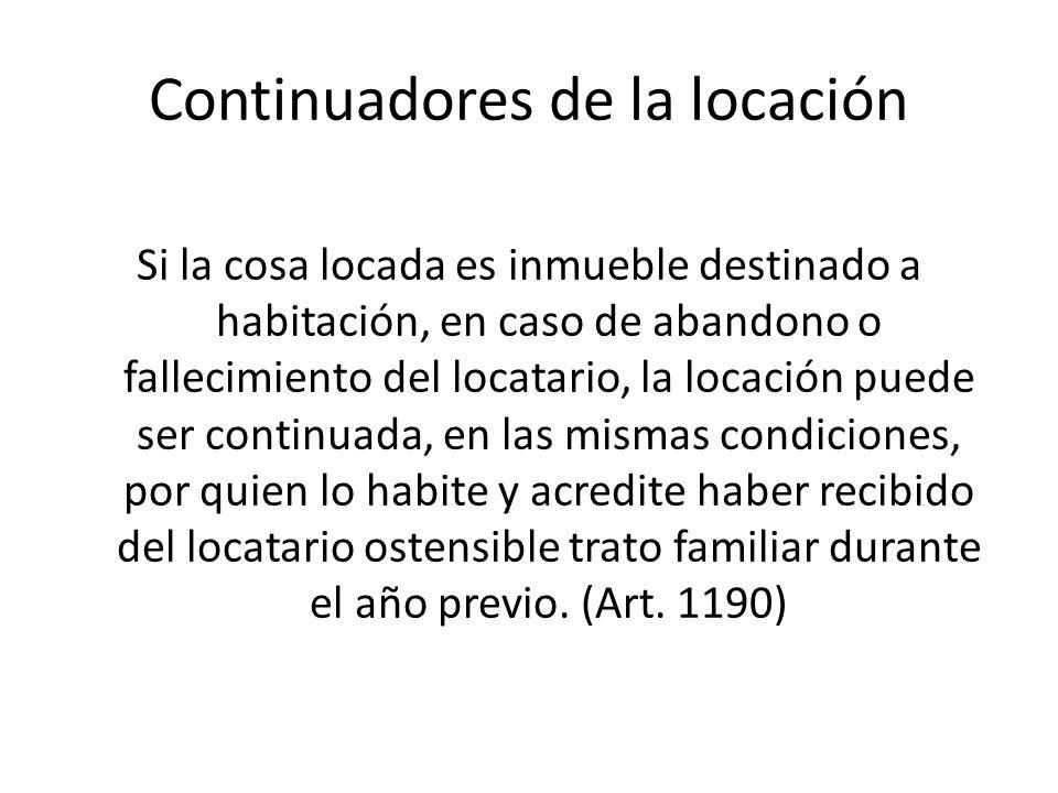 Continuadores de la locación