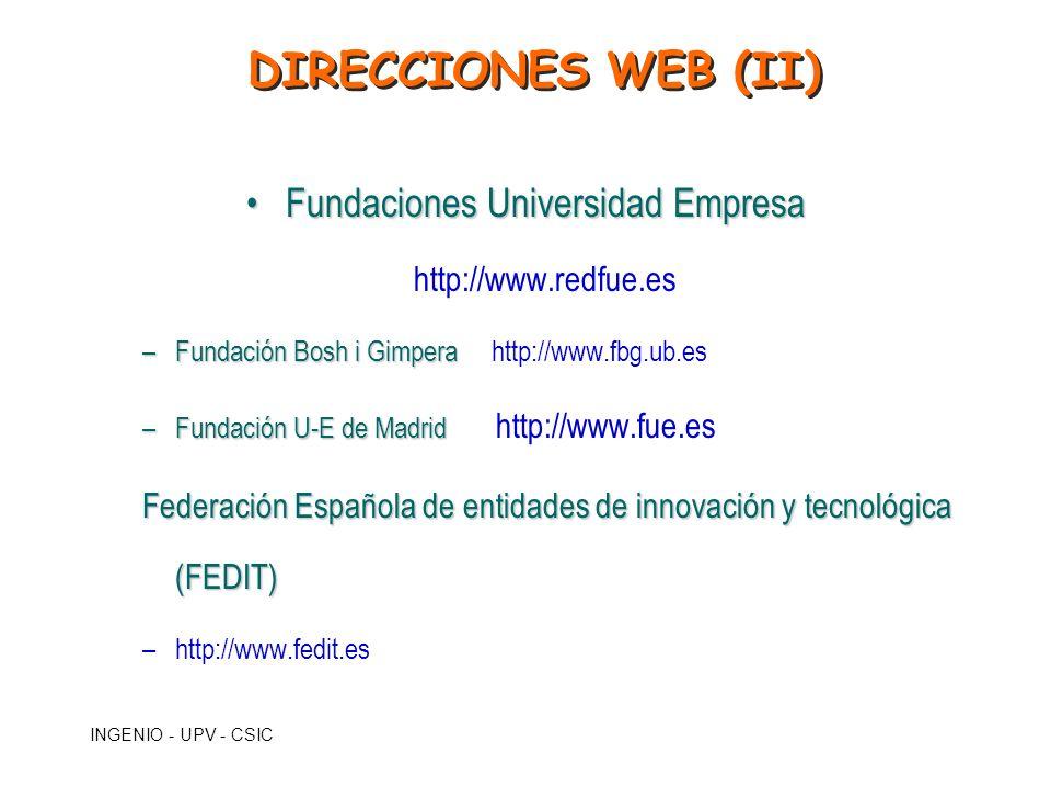 Fundaciones Universidad Empresa http://www.redfue.es