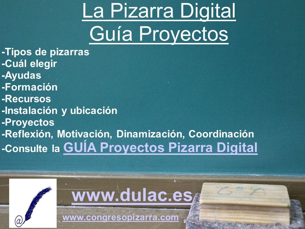La Pizarra Digital Guía Proyectos