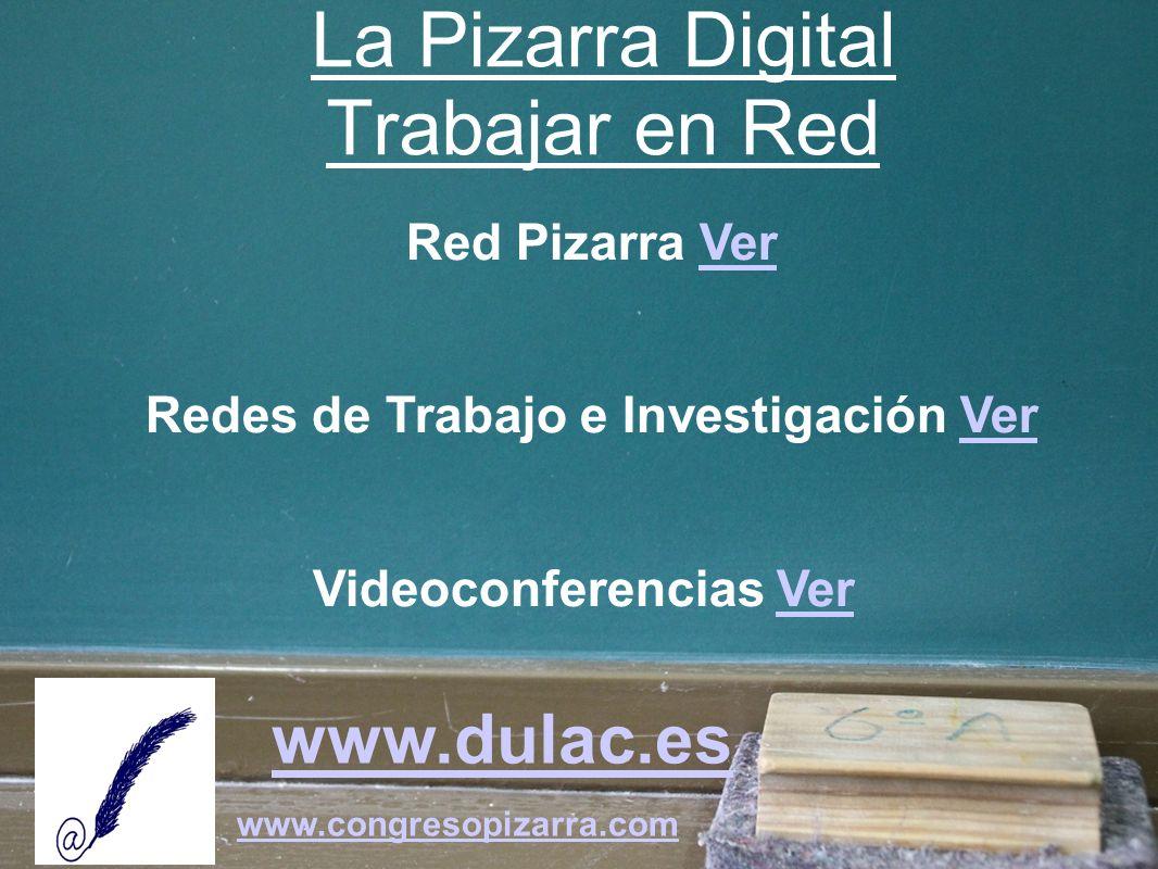 La Pizarra Digital Trabajar en Red