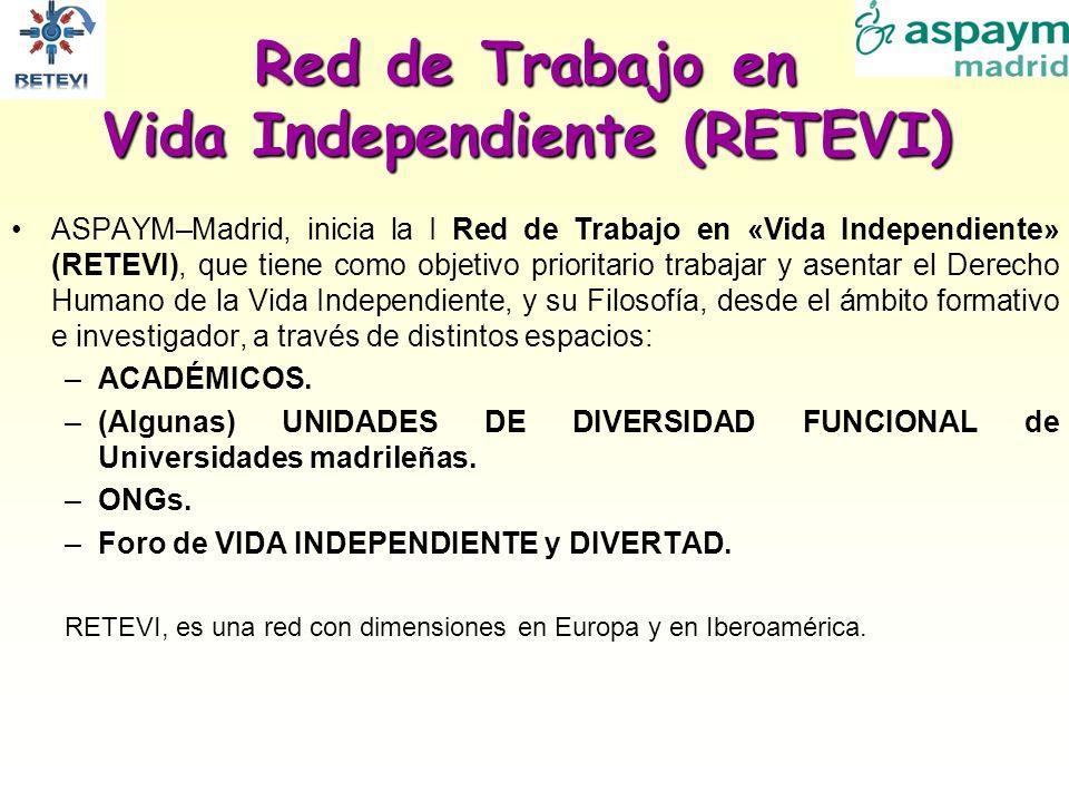 Red de Trabajo en Vida Independiente (RETEVI)