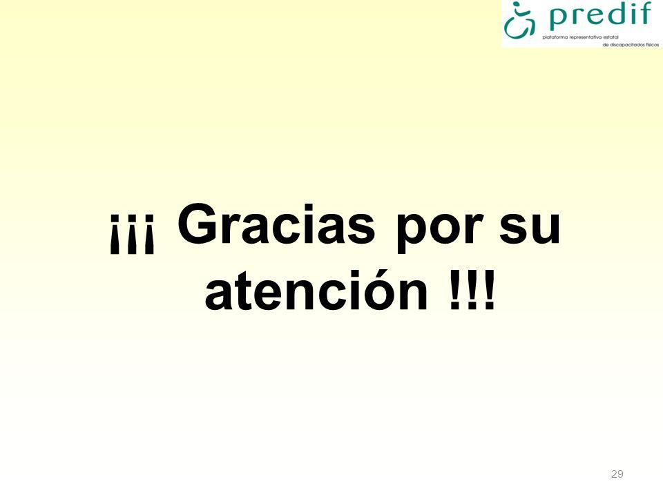 ¡¡¡ Gracias por su atención !!!