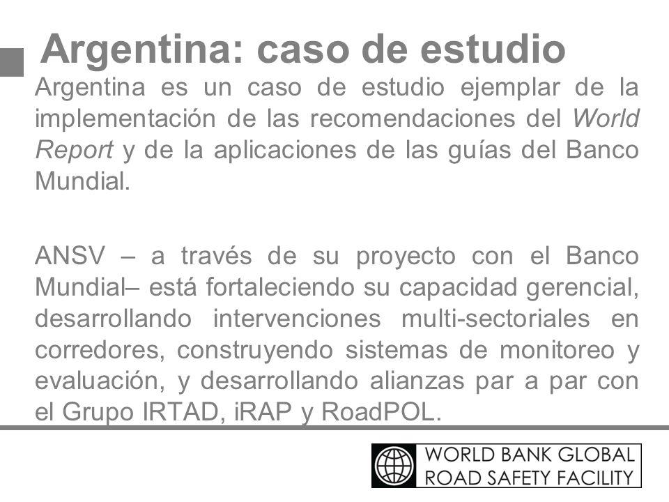 Argentina: caso de estudio