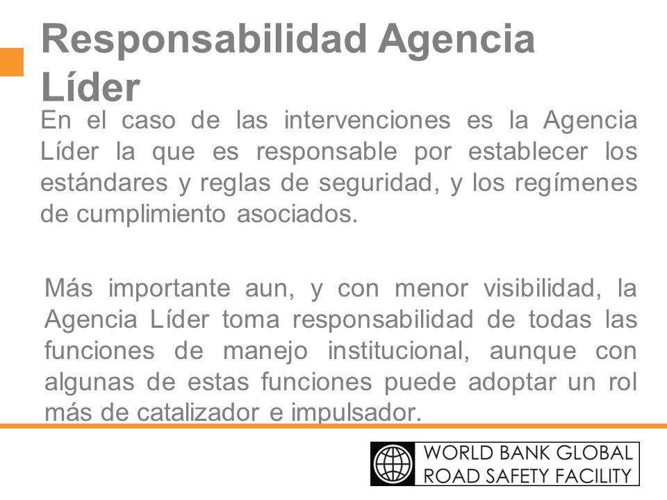 Responsabilidad Agencia Líder