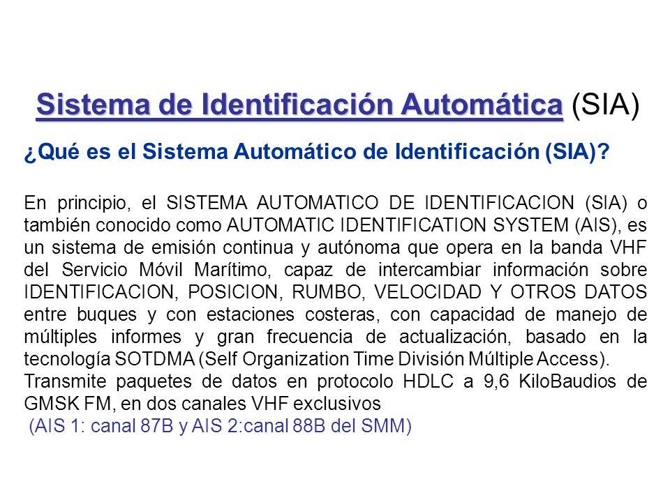 Sistema de Identificación Automática (SIA)
