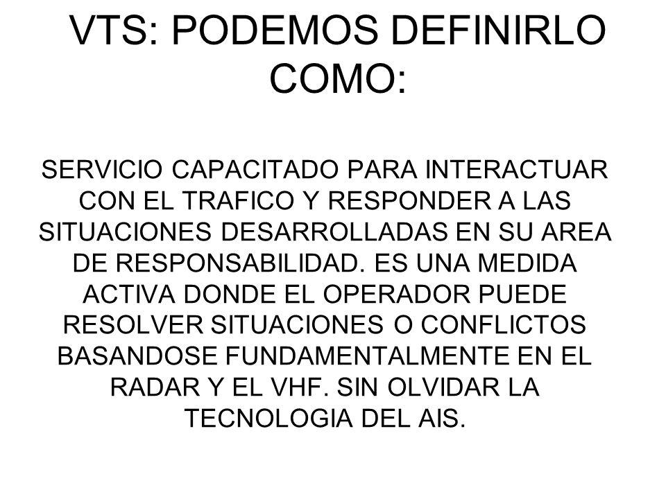 VTS: PODEMOS DEFINIRLO COMO: