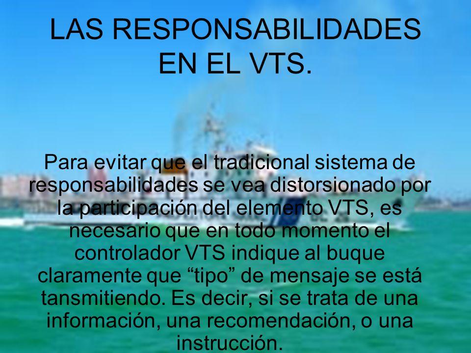 LAS RESPONSABILIDADES EN EL VTS.