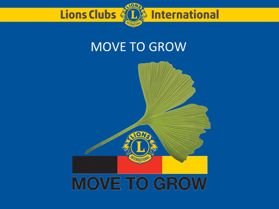 MOVE TO GROW