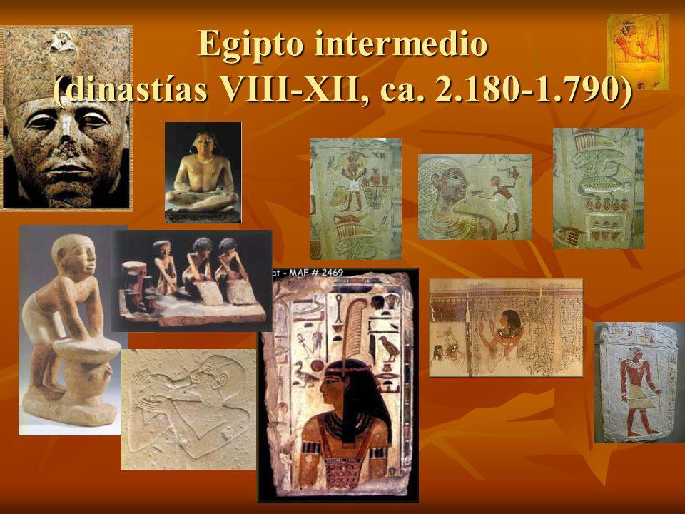 Egipto intermedio (dinastías VIII-XII, ca. 2.180-1.790)