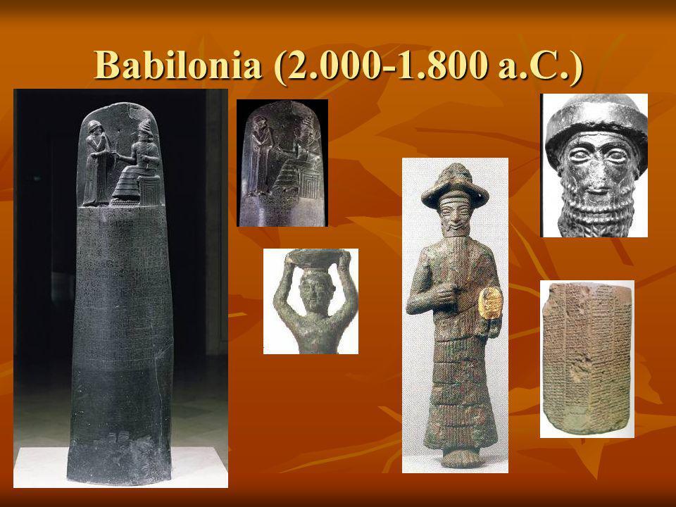 Babilonia (2.000-1.800 a.C.)