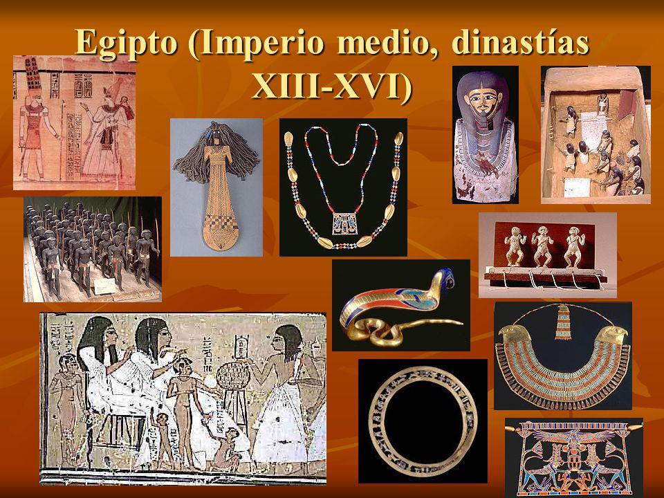 Egipto (Imperio medio, dinastías XIII-XVI)