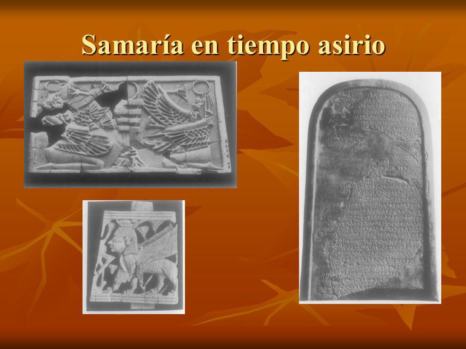 Samaría en tiempo asirio