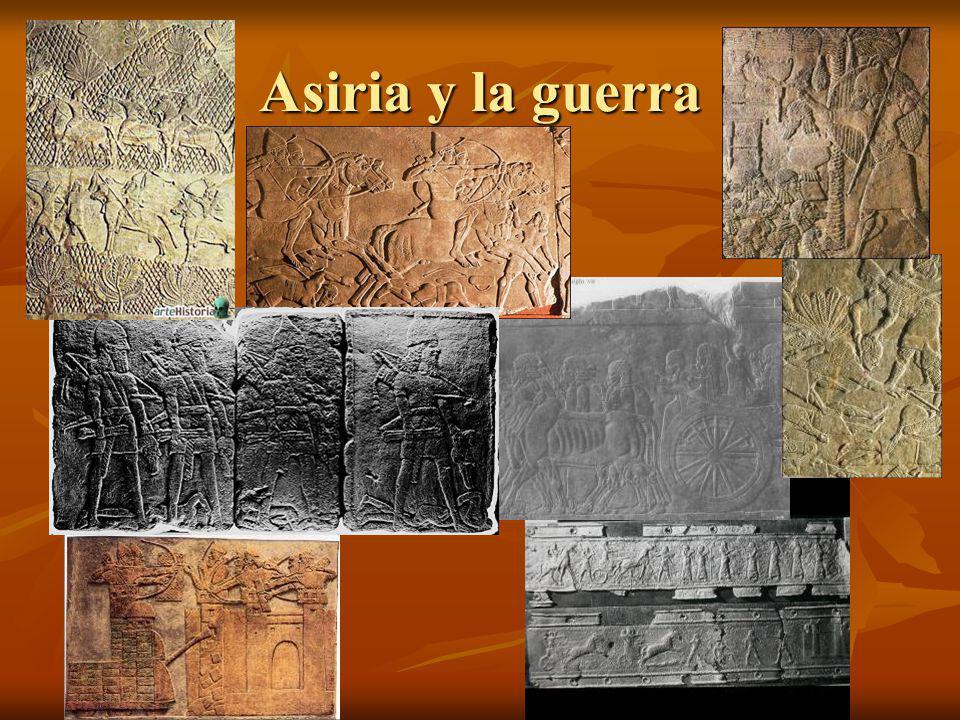 Asiria y la guerra