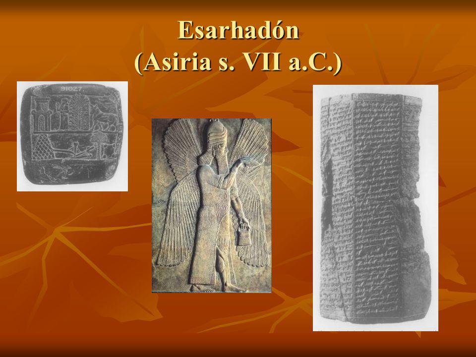 Esarhadón (Asiria s. VII a.C.)
