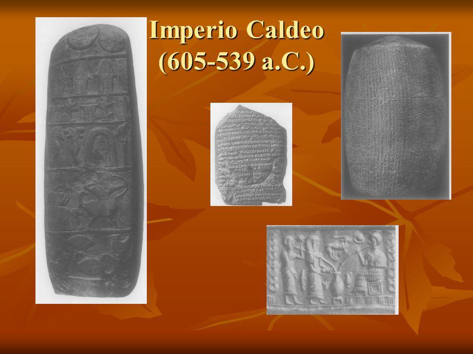 Imperio Caldeo (605-539 a.C.)