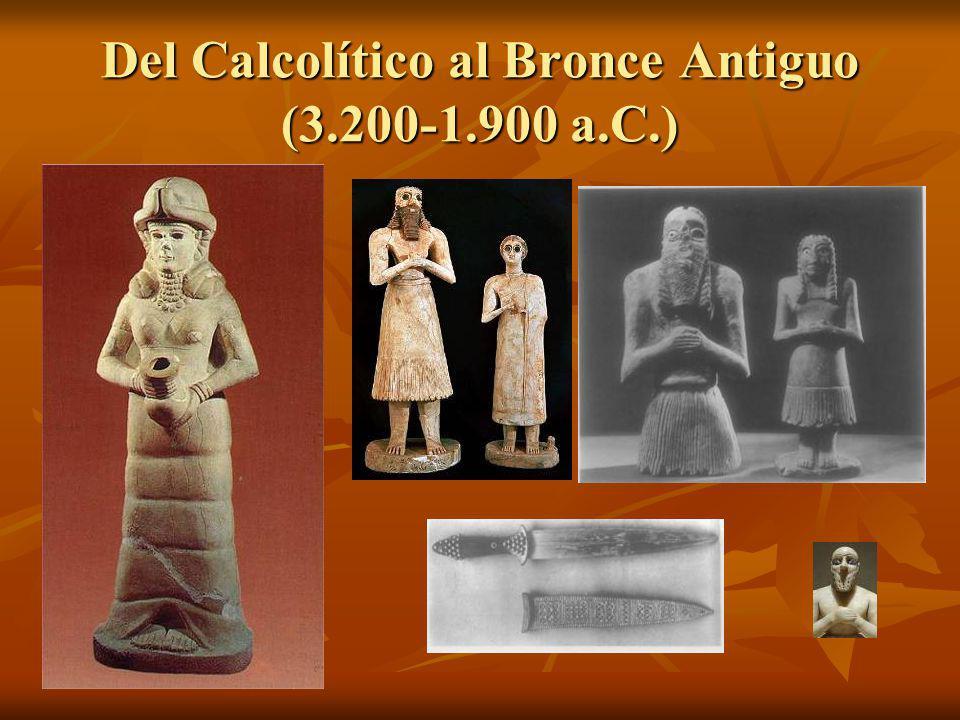 Del Calcolítico al Bronce Antiguo (3.200-1.900 a.C.)