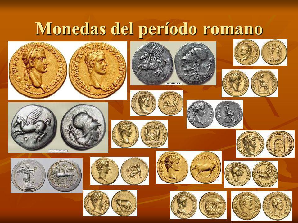 Monedas del período romano