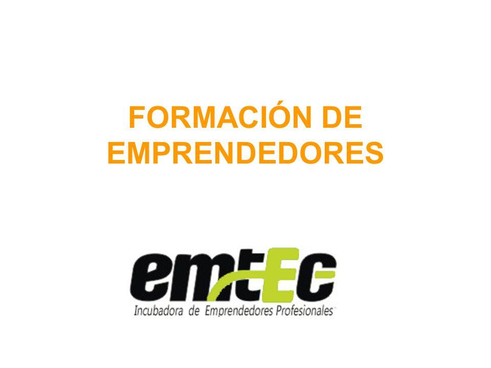 FORMACIÓN DE EMPRENDEDORES