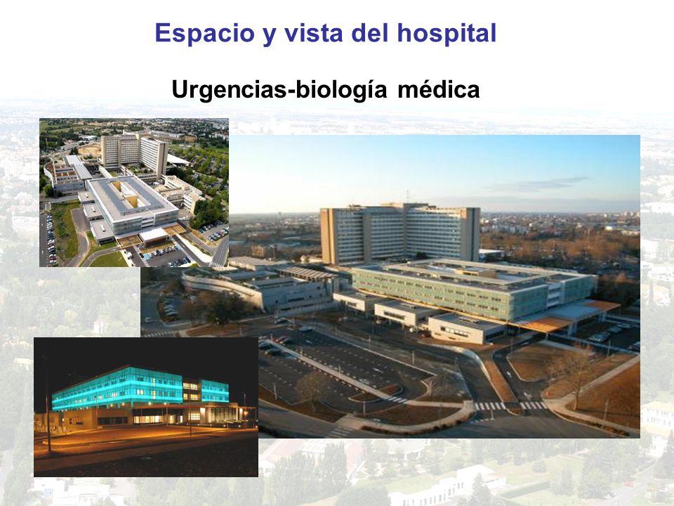 Espacio y vista del hospital