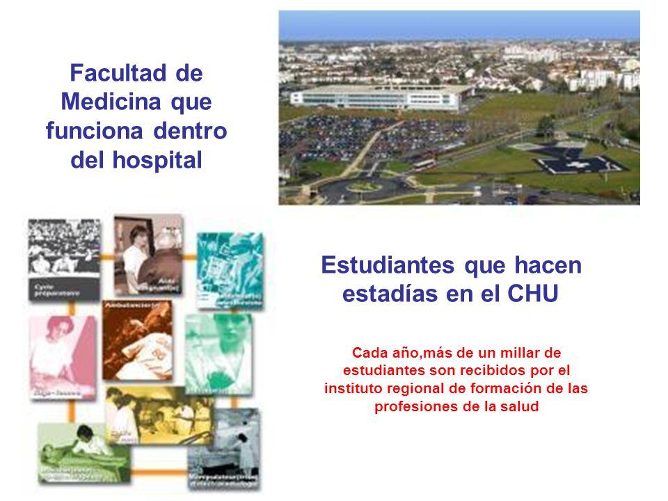 Facultad de Medicina que funciona dentro del hospital