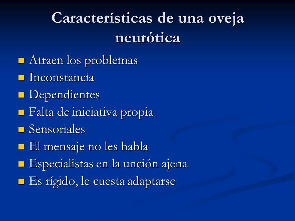 Características de una oveja neurótica