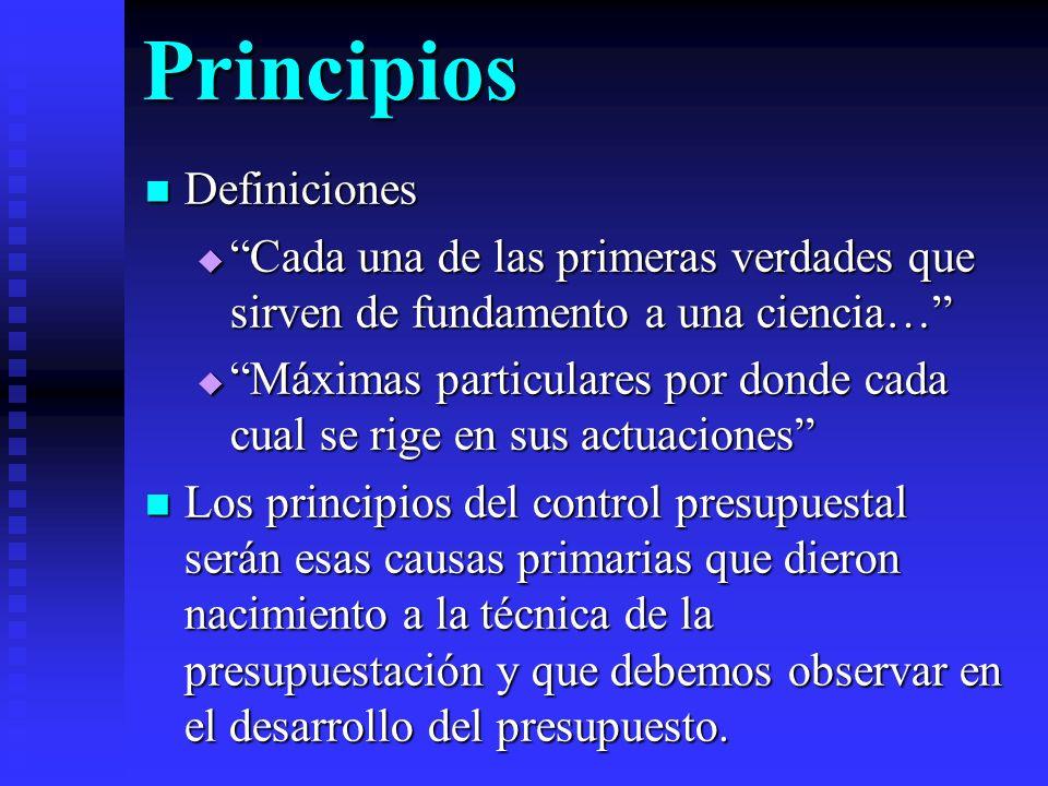 Principios Definiciones