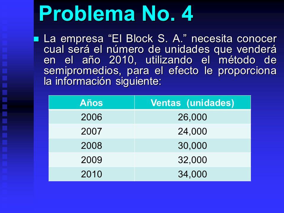 Problema No. 4
