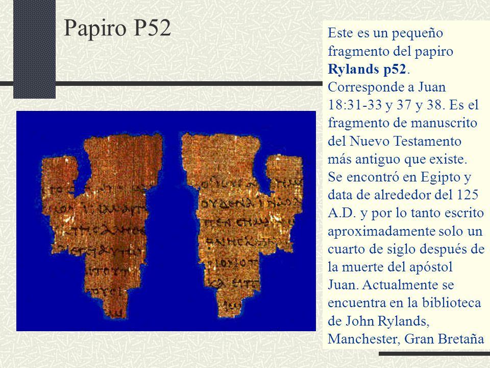 Papiro P52