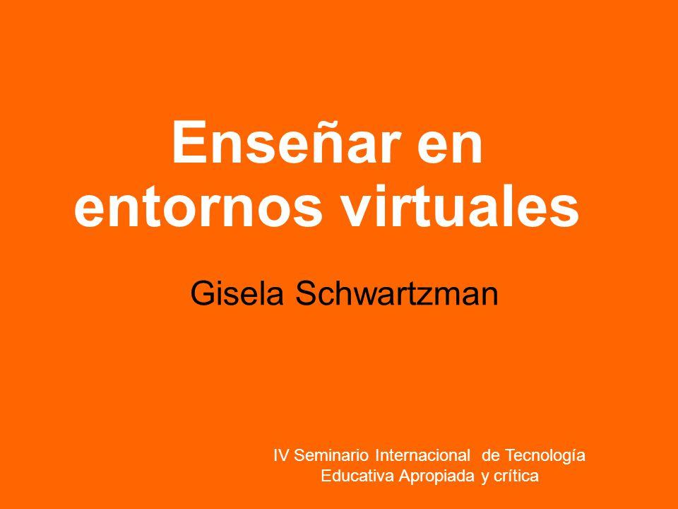 IV Seminario Internacional de Tecnología Educativa Apropiada y crítica