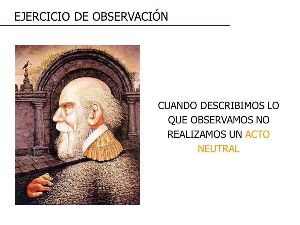 EJERCICIO DE OBSERVACIÓN