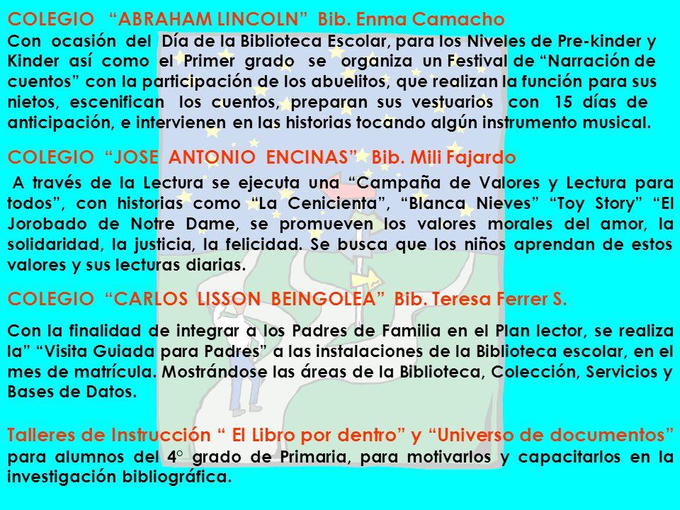 COLEGIO JOSE ANTONIO ENCINAS Bib. Mili Fajardo