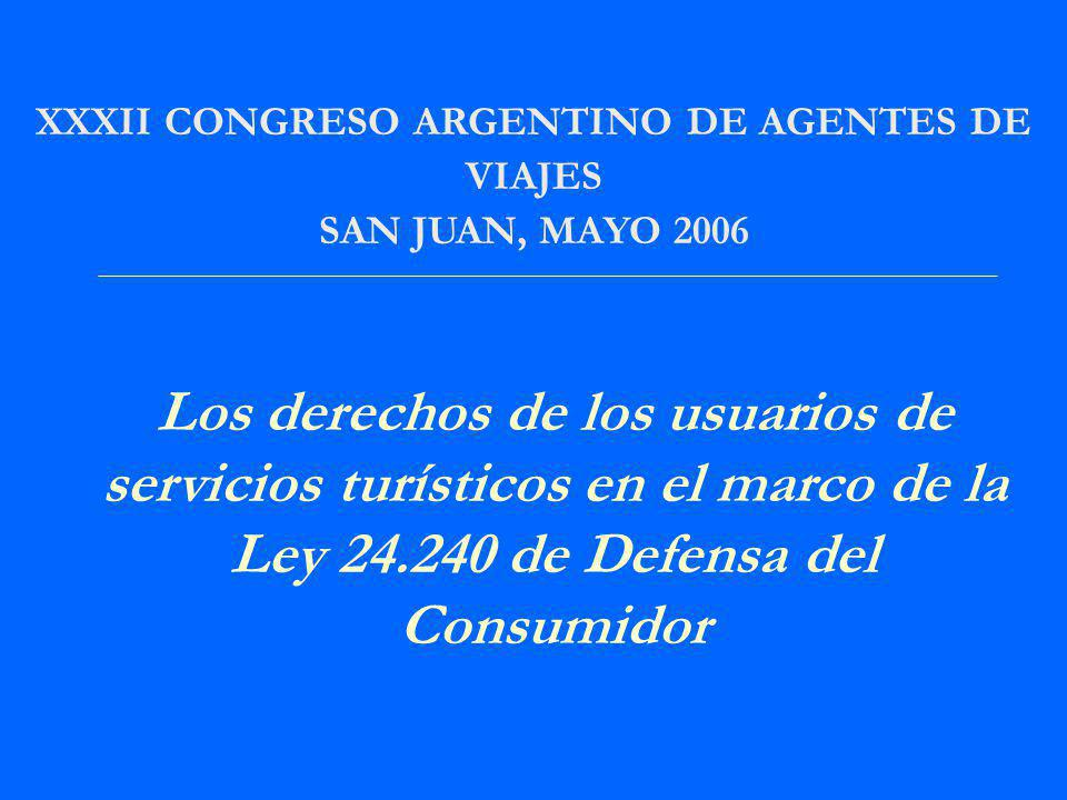 XXXII CONGRESO ARGENTINO DE AGENTES DE