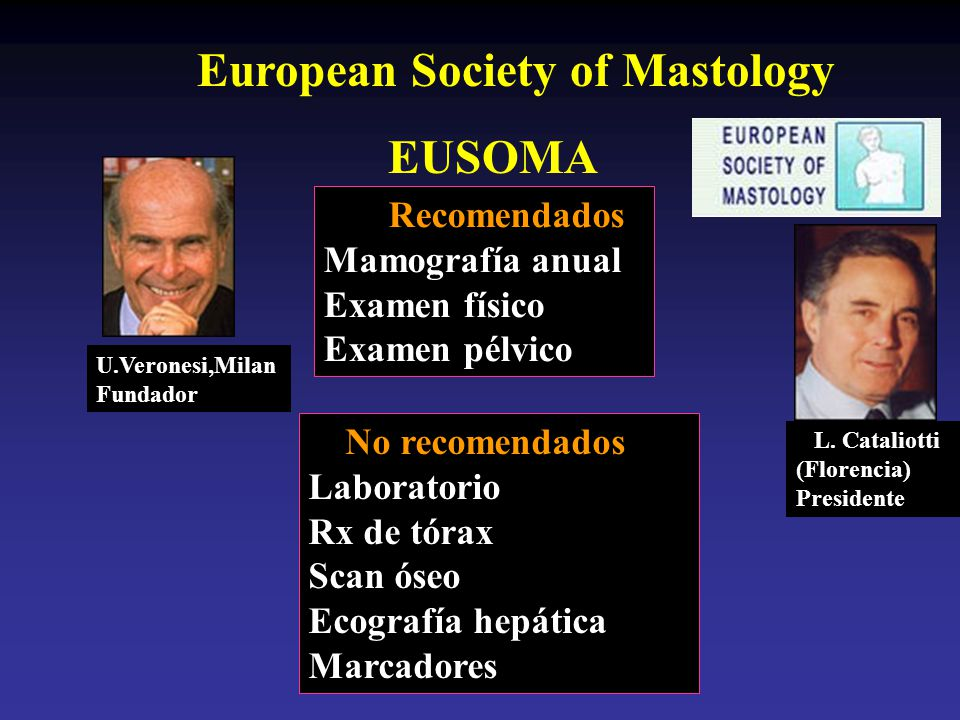 EUSOMA European Society of Mastology